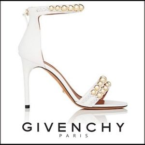 Givenchy Bead Embellished Spina Bride Heels